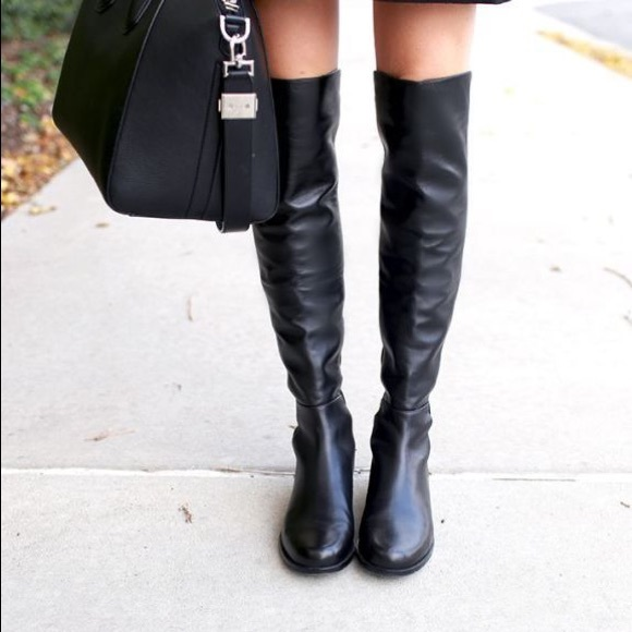 Stuart Weitzman 550 Leather Boots